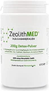 Zeolite MED Detox Powder 200g, Medical Device