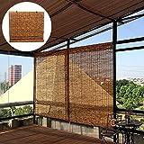 LMDX Tende in Bambu da Esterno - Avvolgibile Bamboo Naturale,Oscurante Cool Traspirante,Giardino, Balcone, Porta, Finestra,Tende A Rullo per Interni