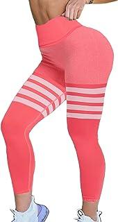 CROSS1946 Seamless Yoga Legging High Waist Fitness Pants Butt Lift Stretchy