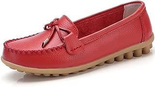 VenusCelia Women's Bow Walking Flat Loafer