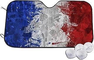 Alien Storehouse Calcoman/ía de Pegatina de Metal de Coche de Bandera Nacional 11,3 /× 2,7 cm//4,4 /× 1,06 Pulgadas Francia