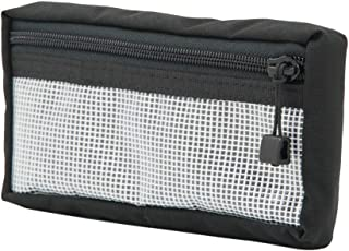 Blue Ridge Overland Gear Velcro Pouch Medium - 4 x 8 x 1 | Clear Front - Made in USA