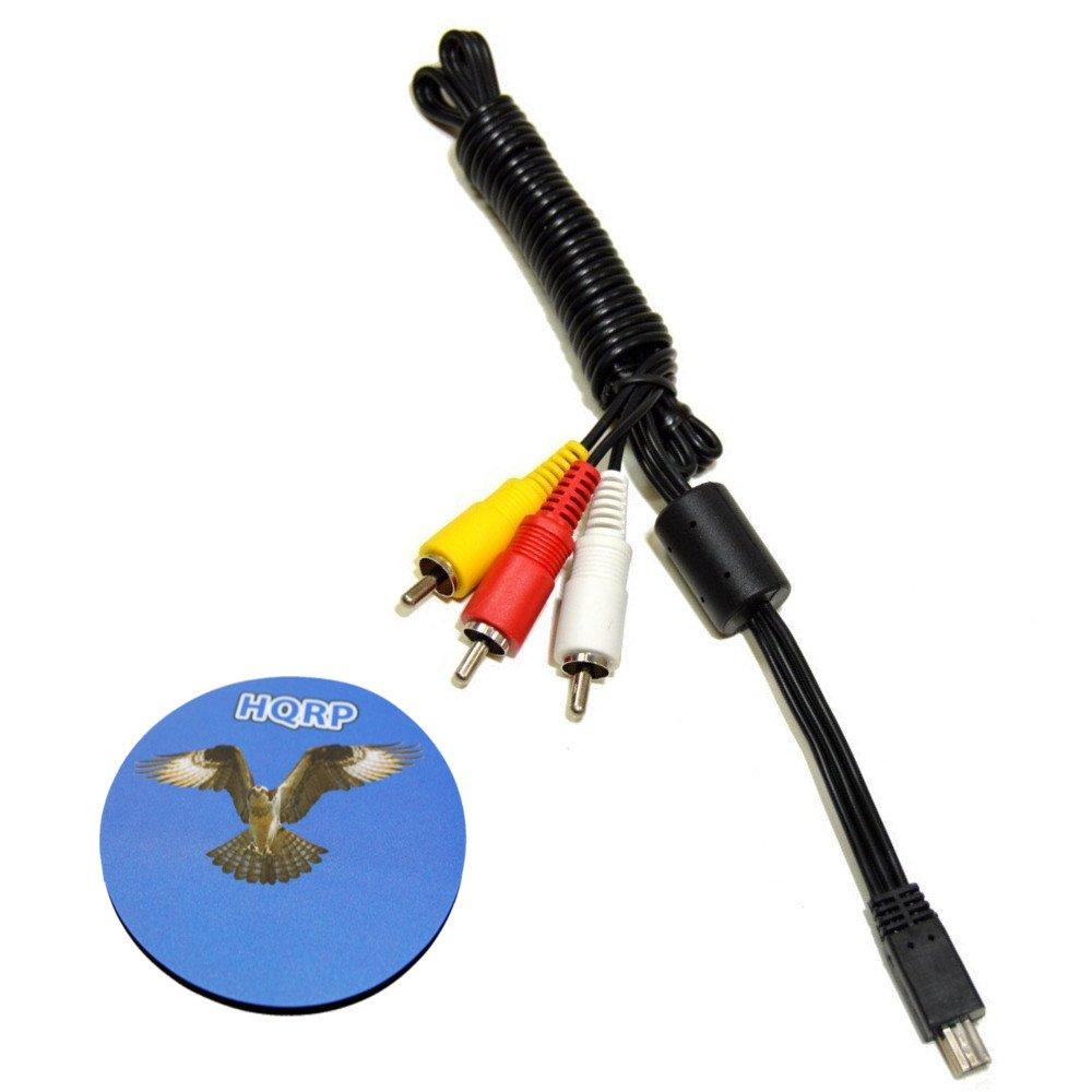 shopping HQRP Mini USB to 3 RCA AV Canon PowerShot Cable 100 HS for ELPH Luxury goods