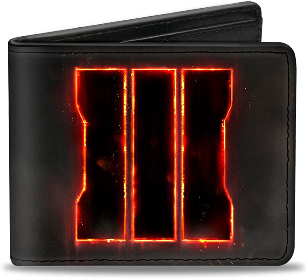 Buckle-Down Bifold Super New popularity beauty product restock quality top Wallet of Call Duty