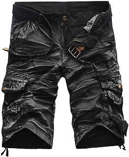 Men's Vintage Cargo Shorts Modern with Beach Pockets Casual Work Random Shorts Shorts Pants Fashion Clothing Sweatpants