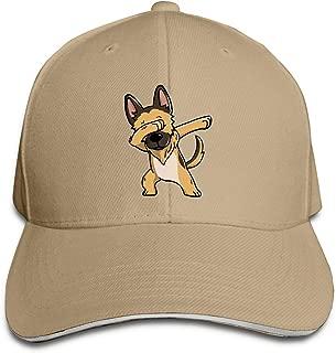 Adult Swag German Shepherd Cotton Lightweight Adjustable Peaked Baseball Cap Sandwich Hat Men Women