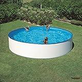 Piscina fuori terra Gre Ibiza rotonda 450x90 cm