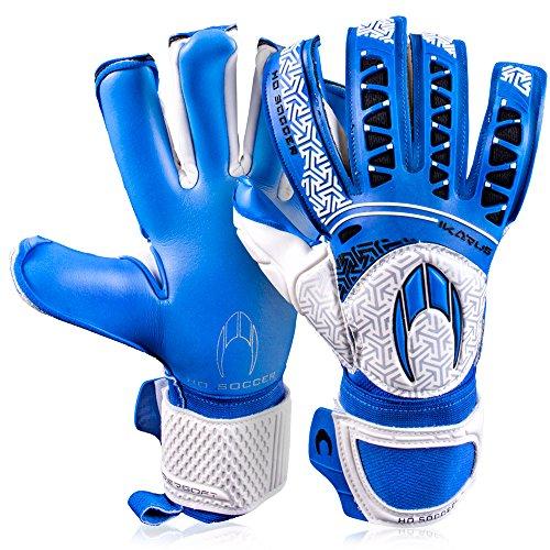 HO Soccer Ikarus Club Torwarthandschuhe, Unisex Erwachsene 37 blau
