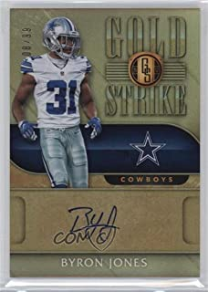 Byron Jones #8/99 (Football Card) 2017 Panini Gold Standard - Gold Strike #GST-BJ