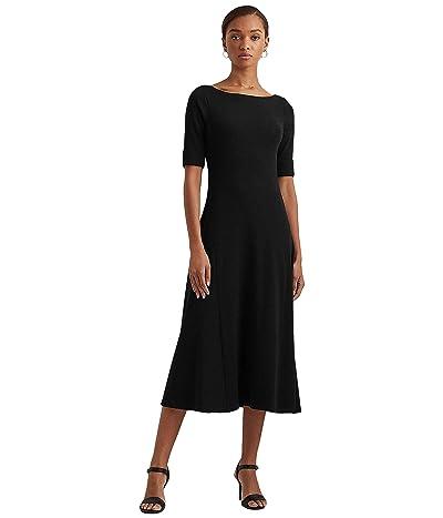 LAUREN Ralph Lauren Elbow Sleeve Day Dress