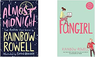 Almost Midnight: Two Festive Short Stories+Fangirl ( Set of 2 Books )