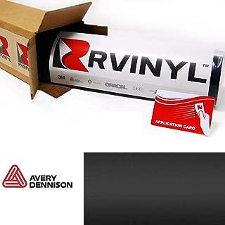 Avery SW900 180-O Matte Black Supreme Wrapping Film Vinyl Vehicle Car Wrap Sheet Roll - (12