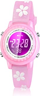 Dodosky Kids Digital Watch, 3D Lovely Cartoon Led Watch for Girl and Boy - Best Gift