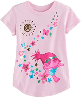 b36f2c40bc Jumping Beans Toddler Girls 2T-5T DreamWorks Trolls Poppy Graphic Tee