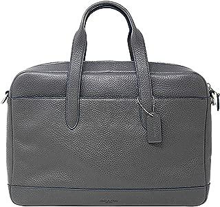 Coach Hamilton Pebbled Leather Briefcase Tote - #F11319 - Grey