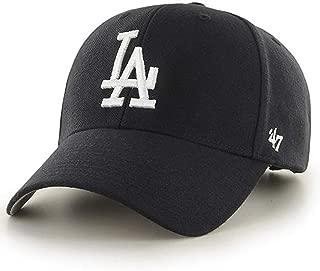 47 Brand Los Angeles Dodgers MVP Black Dad Hat