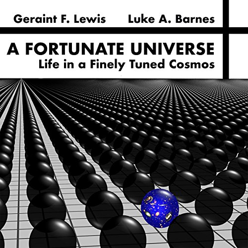 A Fortunate Universe audiobook cover art