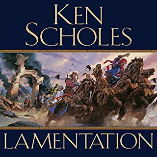 Lamentation audiobook cover art