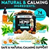 FurroLandia Hemp Calming Treats for Dogs - 170 Soft Chews - Made in Usa - Hemp Oil for Dogs - Dog Anxiety Relief - Natural Calming Aid - Stress - Fireworks - Aggressive Behavior (Peanut Butter Flavor) #2