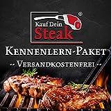 Das 'Kauf Dein Steak' Kennenlern-Paket inkl. Rumpsteak (Dry-Aged), Porterhousesteak (Dry-Aged), Rib-Eye-Steak ohne Knochen (Dry-Aged), T-Bone-Steak (Dry-Aged)