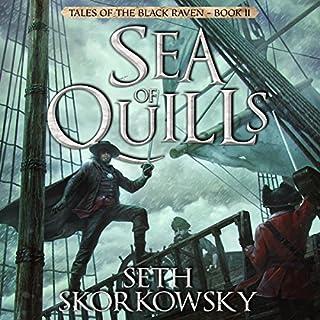 Sea of Quills audiobook cover art