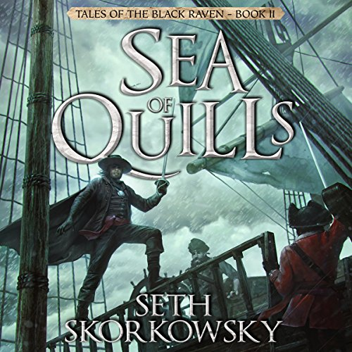 Sea of Quills audiobook cover art
