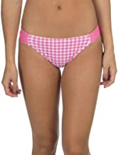 Lauren James Gingham Hipster Bikini Bottom in Pink Final Sale