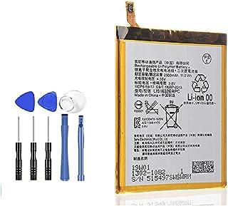 【Gooing】 Sony Xperia エクスペリア XZ XZs (docomo SO-01J SO-03J au SOV34 SOV35) 3.8V 2900mAh LIS1632ERPC リチウム ポリマー 交換 電池 バッテリー 工具...