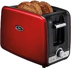 Torradeira Square Retro Toaster 127v Oster Vermelho 110v