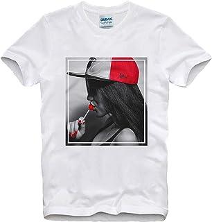 T-Shirt Hot Sexy Lollipop Girl Lips Bad Bitch Fresh Dope Swag Gangster Gangsta