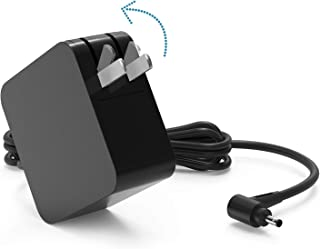 Replacement Laptop Charger 45W Protable AC Adapter for Lenovo IdeaPad 100S 100 110 110S 120S 310 320 330S 510 ADP-45DW B ADL45WCC Flex 4 1130 Yoga 710 Chromebook N21 N23 N42 Mixx 510 (Foldable Plug)