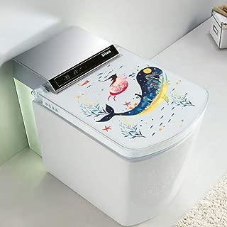 Mundo submarino Ballena Pegatina para el baño Etiqueta engomada del cuaderno Decoración de la habitación del niño Etiqueta de la pared Etiqueta engomada impermeable PVC