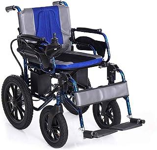 Sillas de ruedas eléctricas para adultos Médico silla de ruedas for sillas de rehabilitación, sillas de ruedas, Pesado Silla de ruedas eléctrica, plegable y ligero silla de ruedas eléctrica, 360 ° Joy