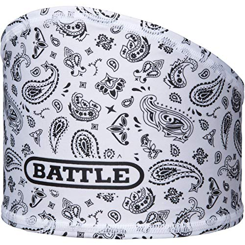 Unbekannt Battle Herren Bandana Skull Wrap Stirnband, weiß, One Size Fits Most
