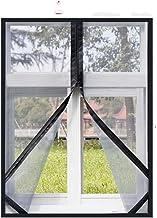LOPIXUO Magnetisch gordijn Muskietennetten Voor Windows, Zomer Insect-Proof Gordijnen, Verwijderbare Huishoudelijke Scherm...