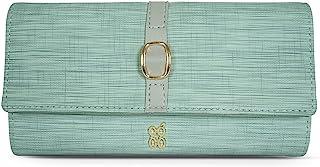 Baggit Spring-Summer 2021 Faux Leather Women's Harmonium Wallet (Green) (Timtom)