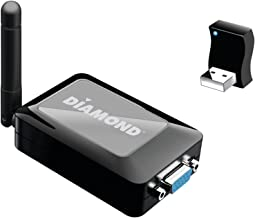 Diamond Multimedia WPCTVPRO 1080p VStream Wireless USB PC to TV Adapter for Win8.1, Win8, Win7, Win Vista, WinXP, MAC OS and Android 5.0 and Higher