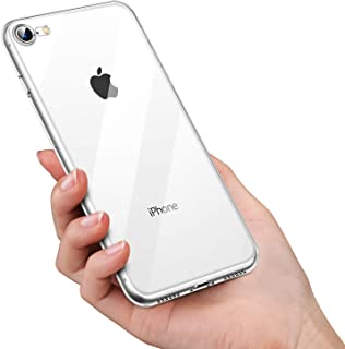 Crystal Clear Transparent SE 2020, iPhone 7 and 8 Gel Case | Comes with Anti-Scratch, Shock Absorption and Anti-Yellowing ...