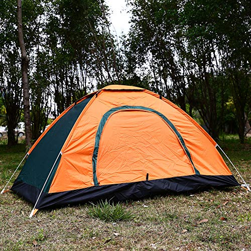 Auntwhale 3 Person Camping Tent Automatic Pop Up Waterproof Tent Sun Shelters with Carry Bag for Picnic, Hiking, Fishing, Outdoor
