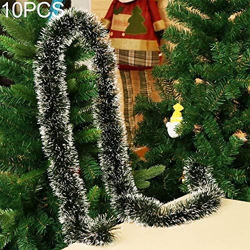 BZN 10 PCS Pull-Blumen-Band Weihnachtsfeiertags-Party-Dekoration, zufällige Farbe Lieferung