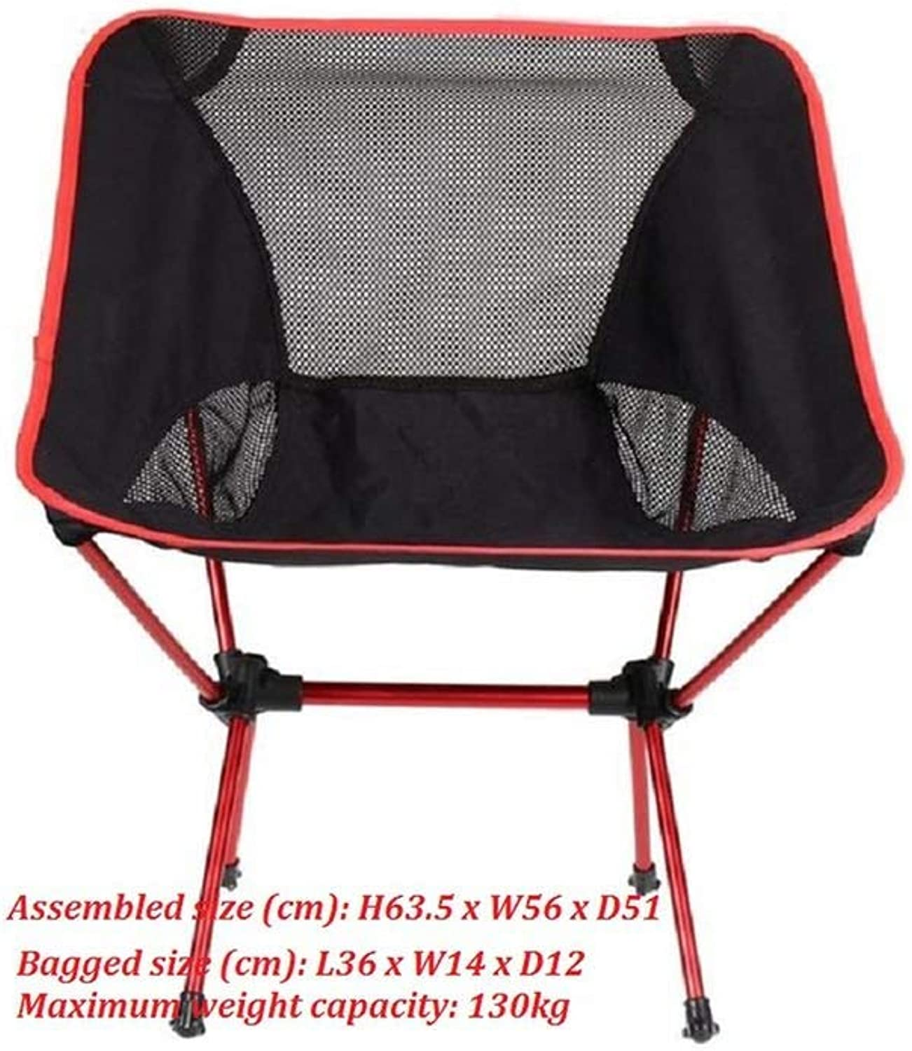 Outdoor Chairsportable Folding Fishing Chair Camping Chair Seat 600D Oxford Cloth Aluminium Fishing Chair for Outdoor Picnic BBQ Beach Chair