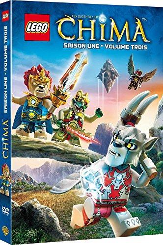 Lego : légendes de chima, saison 1, vol. 3 [FR Import]