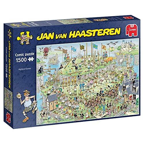 "Jumbo 19088 Jan Van Haasteren ""Highland Games"" Puzzle da 1500 Pezzi"