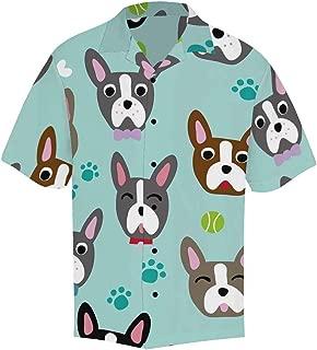 Shirts Beach Short Sleeve Dinosaurs Button?Up Hawaiian?Shirt S-5XL
