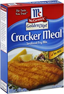 Golden Dipt Cracker Meal Fry Mix 10.0 OZ (Pack of 2)