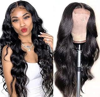 Human Hair Lace Front Wigs for Black Women Pre Plucked Brazilian Virgin Lace Frontal Wigs Human Hair 150% Density Body Wav...