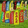 """Benvenuto Swooper Flag & Pole Kit - """"Welcome"""" - Adatto per Feste ed Eventi, Promozioni All'aperto, Decorazioni da Giardino o Espositori Pubblicitari Commerciali #5"""