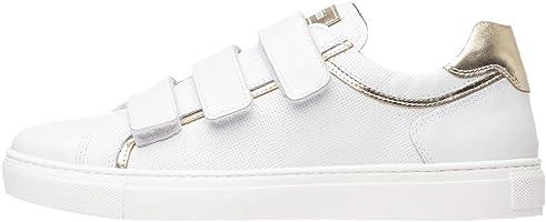 NeroGiardini P805261D Sneaker Mujer De Piel Y Tela