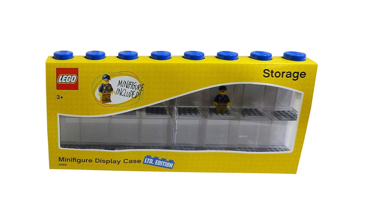 Room Copenhagen Lego 4066-caja de almacenaje para Minifiguras con diseño de ladrillo 16, Color Azul, L: Amazon.es: Hogar