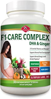 Olympian Labs F-1 Care Complex with Dha & Ginger, 30 Count